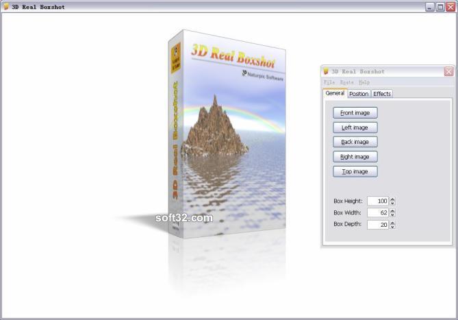 3D Real Boxshot Screenshot 2