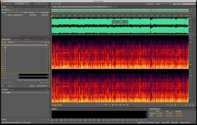 Adobe Audition Screenshot 1