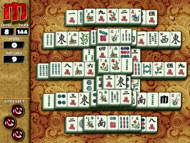 Random Factor Mahjong Screenshot 1