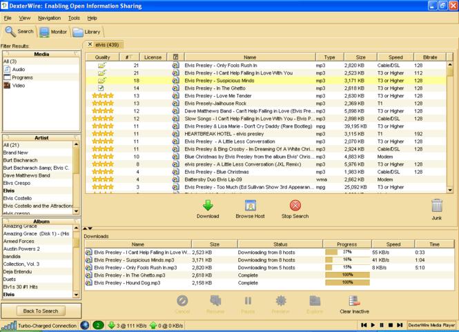 DexterWire Screenshot