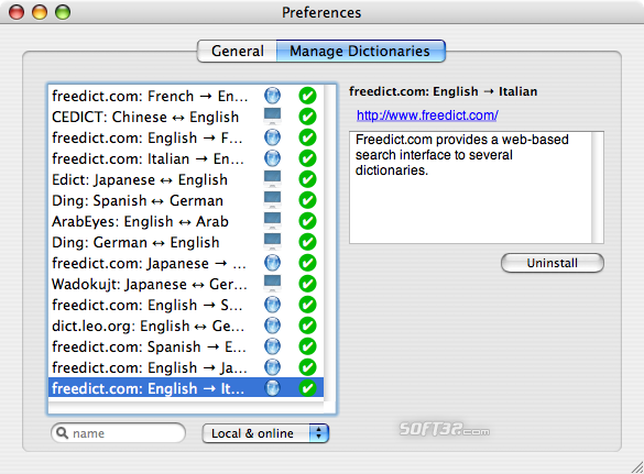 MacTranslator Screenshot 1
