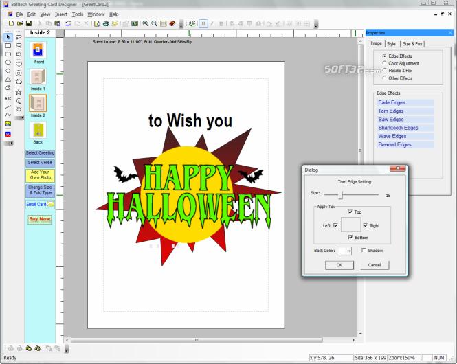 Greeting Card Designer Screenshot 2