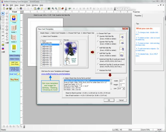 Greeting Card Designer Screenshot 4