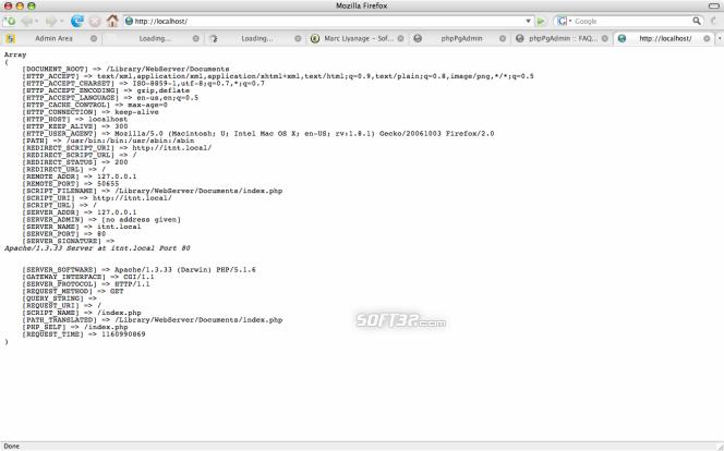 PHP Apache Module Screenshot 2