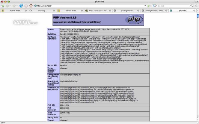 PHP Apache Module Screenshot 3