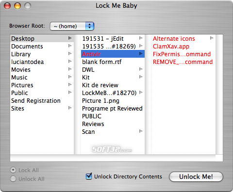 LockMeBaby Screenshot 2