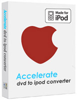 Accelerate DVD to iPod Converter Screenshot 1