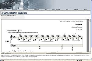 MagicScore onLine Screenshot