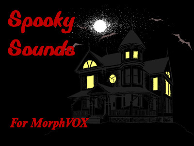 Spooky Sounds - MorphVOX Add-on Screenshot