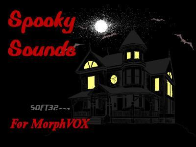 Spooky Sounds - MorphVOX Add-on Screenshot 3