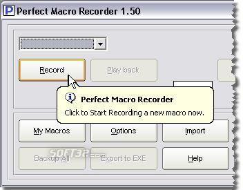 Perfect Macro Recorder Screenshot 2
