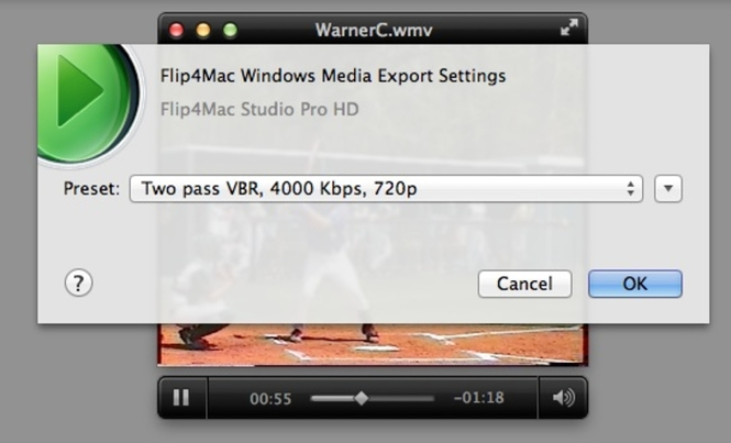 Flip4Mac WMV Player Screenshot 2