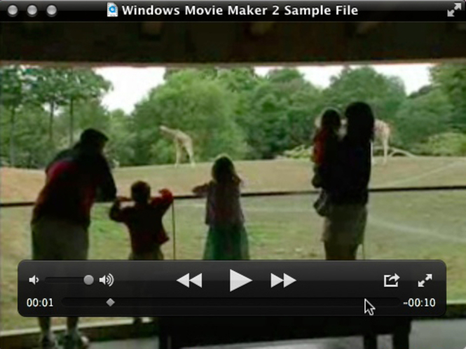 Flip4Mac WMV Player Screenshot 1