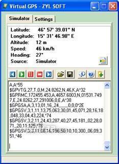 Virtual GPS Screenshot 2
