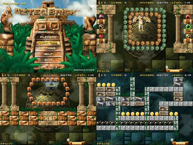 Aztec Bricks Screenshot 1