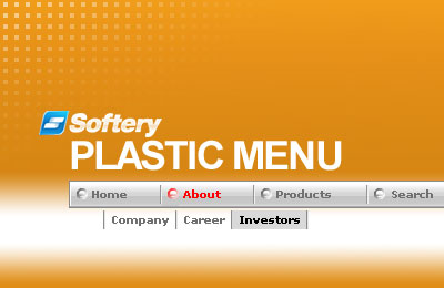 Plastic Flash Menu Screenshot