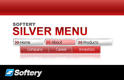 Silver Flash Menu Screenshot