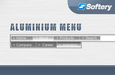 Aluminium Flash Menu Screenshot 1