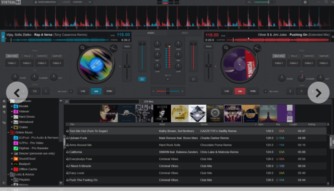 Virtual DJ Screenshot