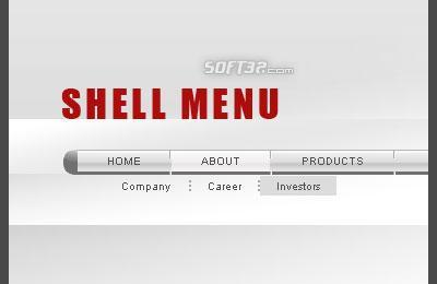 Shell Flash Menu Screenshot 3
