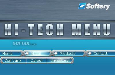 Hi-Tech Flash Menu Screenshot 3