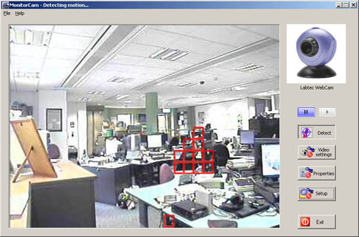 MonitorCam Screenshot