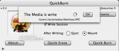 QuickBurn Screenshot 4