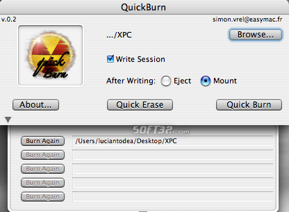QuickBurn Screenshot 5