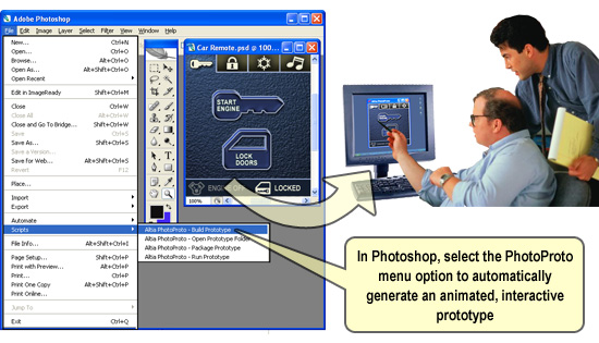 PhotoProto Screenshot