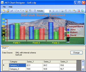 .NET Chart Designer Screenshot 1