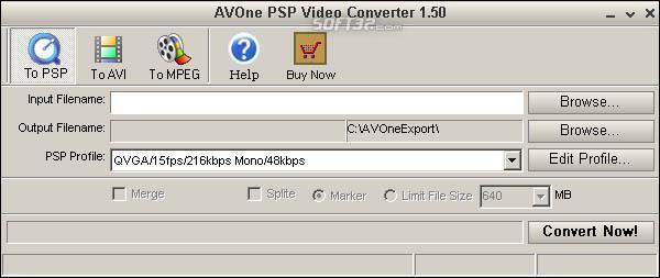 AVOne PSP Video Converter Screenshot 2