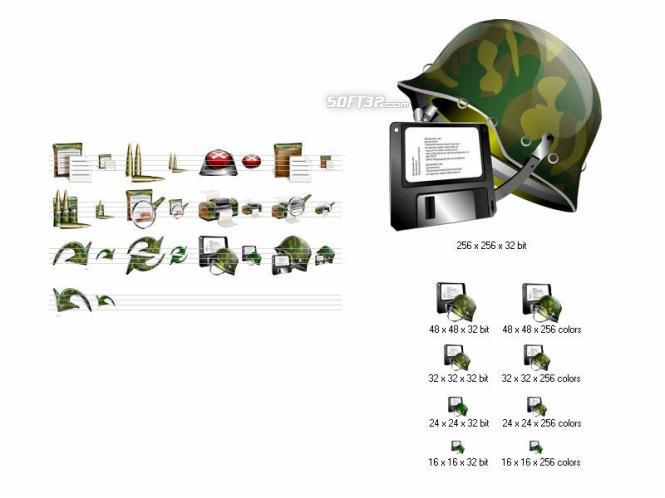 Military Icon Set Screenshot 3
