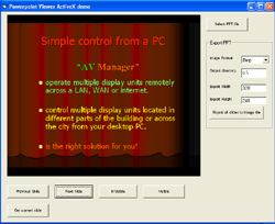 VISCOM Free PowerPoint Viewer ActiveX Screenshot 1