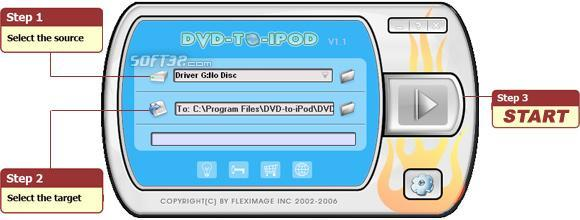 DVD-TO-IPOD Screenshot 1