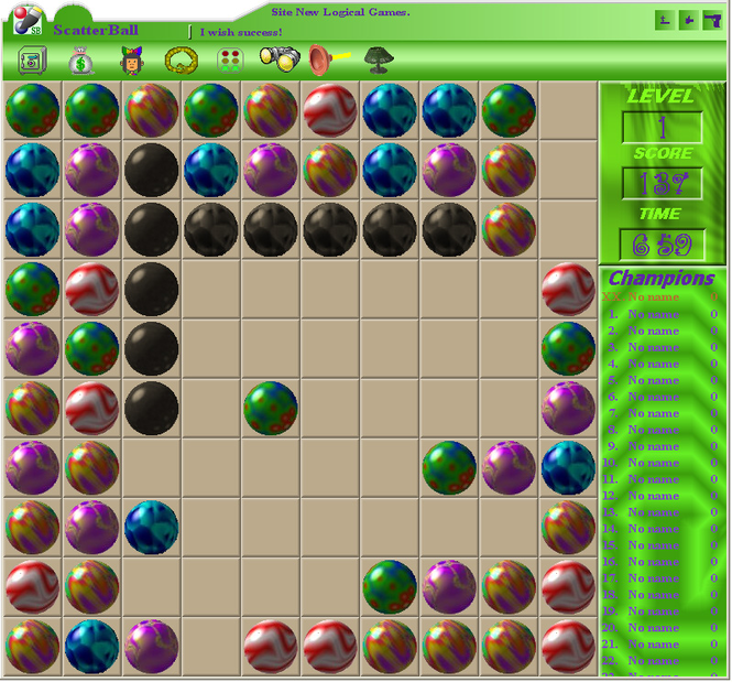 ScatterBall Screenshot 1
