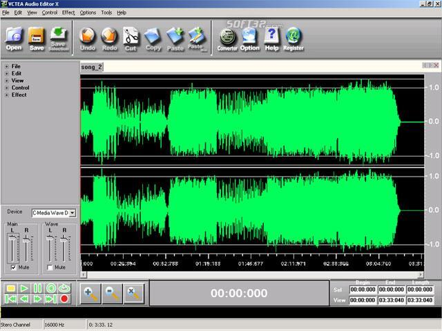 VCTEA Audio Editor X Screenshot 1