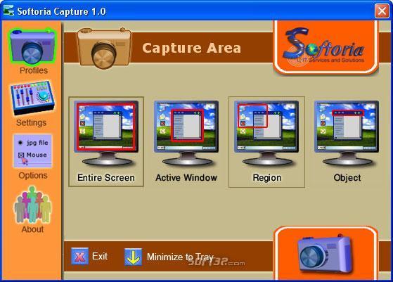 Softoria Capture Screenshot 2