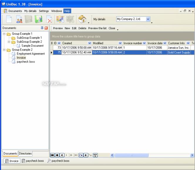 UniDoc Screenshot 2