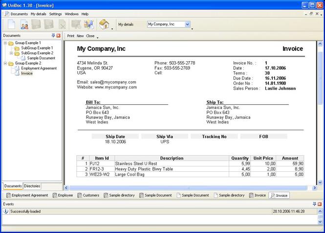 UniDoc Screenshot 1