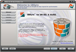 DBSync for MS SQL & MySQL Screenshot 1