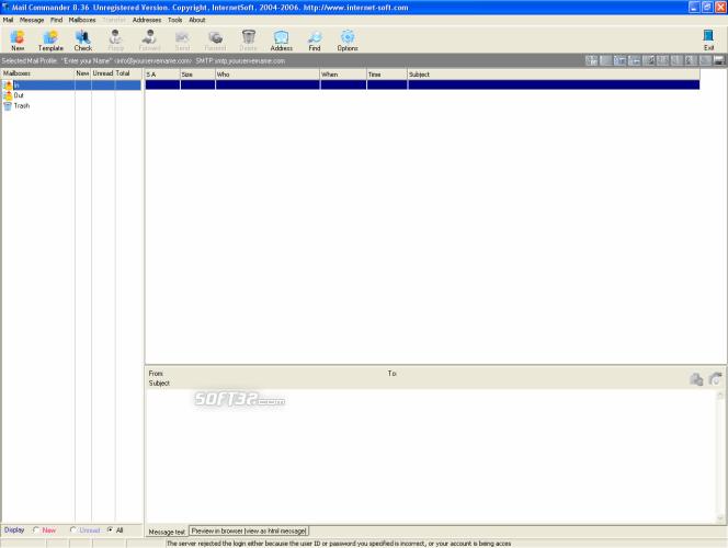 Email Commander Screenshot 4