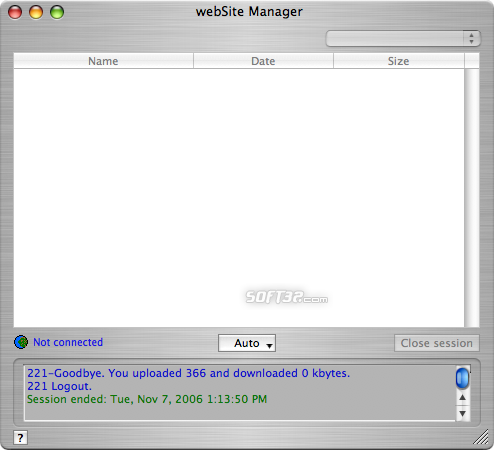 webSite Manager Screenshot 8