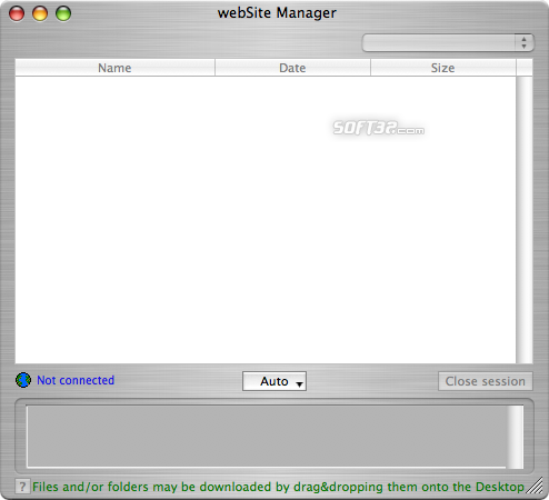 webSite Manager Screenshot