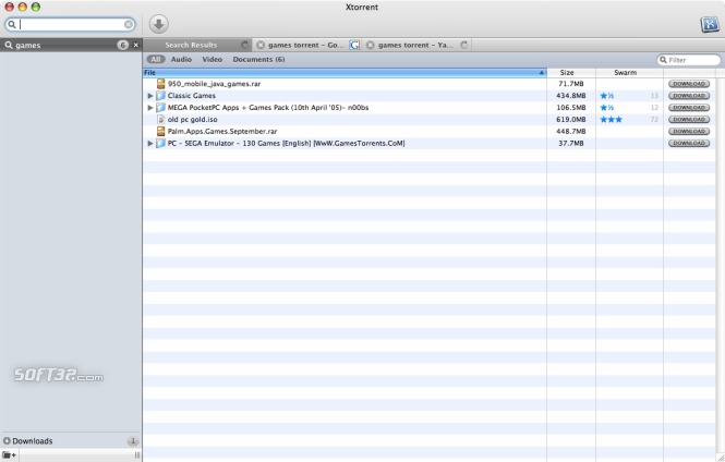 Xtorrent Screenshot 4
