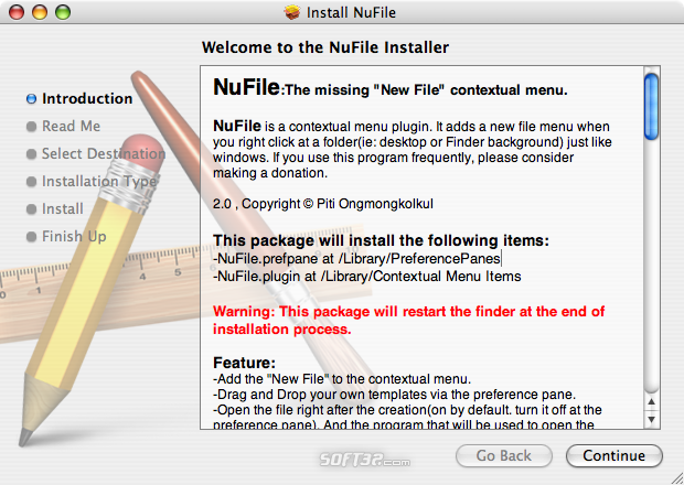 NuFile Screenshot