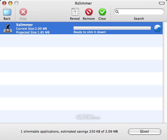 Xslimmer Screenshot 8