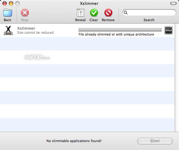 Xslimmer Screenshot 2
