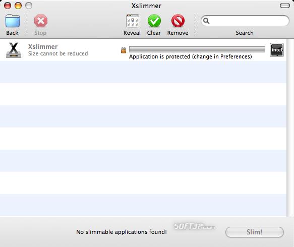 Xslimmer Screenshot 3