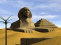 Egyptian Pyramids 3D Screensaver 1