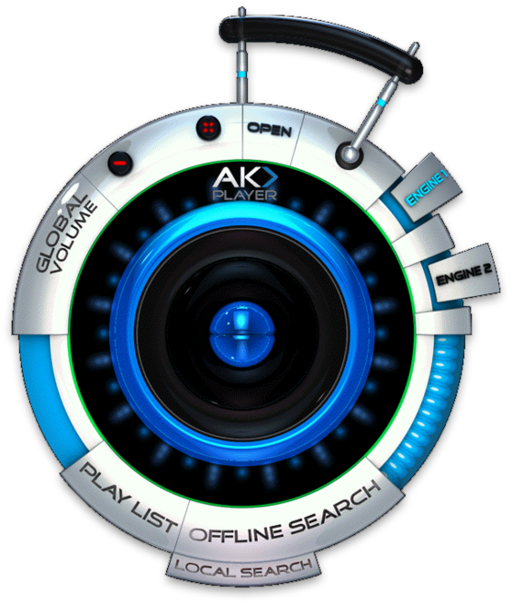 AK-Player Screenshot
